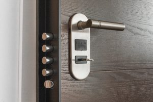 door security lock is important when moving into a high-rise apartment