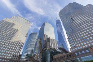 Buildings on Manhattan