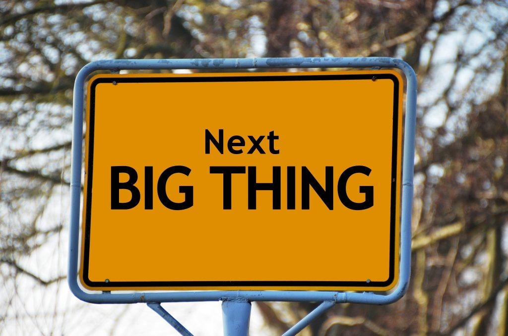 Next big thing sign - now all you gotta do is prepare your parents for moving out.