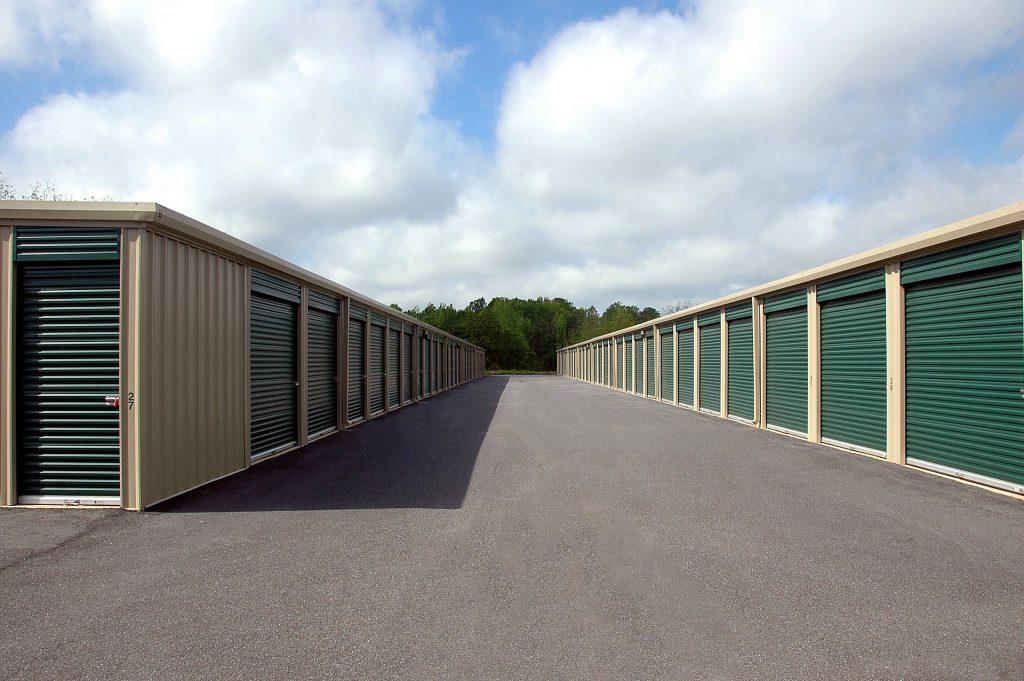A storage facility.