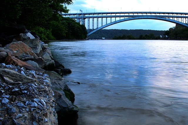 The Hudson river - you will see it after moving to Inwood.