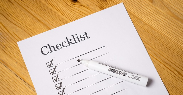 A checklist can contain the top commercial moving guidelines.