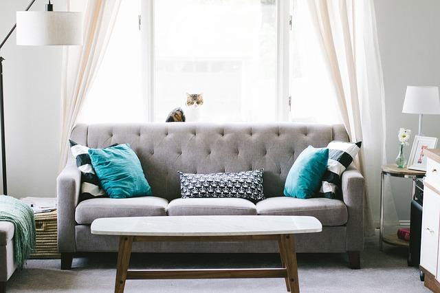 A sofa.