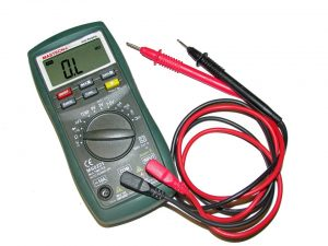 Multimeter will help you prepare home appliances for relocation