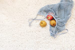 fruit on the carpet