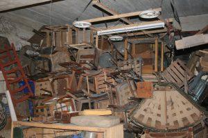 basement, junk