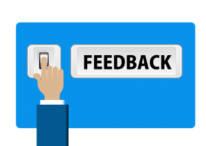 a small representation of feedback