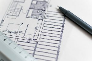 a house plan drawing