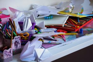 clutter-office supplies