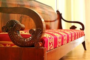 antique wooden sofa - you might need a reliable moving company that also offers antique moving services