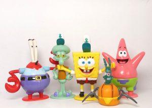 Caracters from Spongebob Squarepants