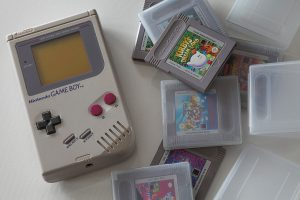 An old gameboy