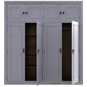 Large wardrobe can be used as a room divider