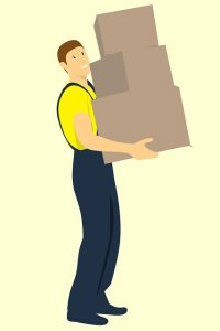 Mover, hire movers to pack and move paintings