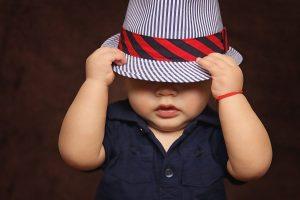 cute dressed baby