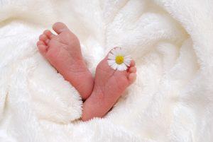 baby's feet