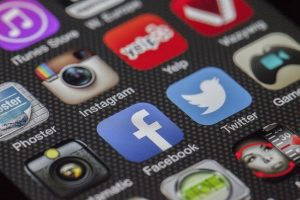 Social media, do not use social media to break the news about your long-distance move