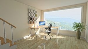 The view as a part of home office design