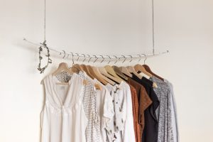 clothes on the hanger