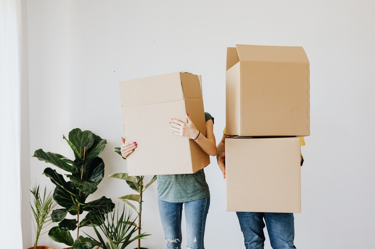 When should I use specialty moving boxes?