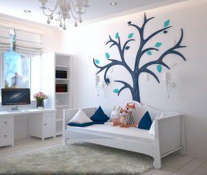 A bedroom for kids