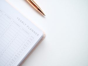 yearly planner for tenants