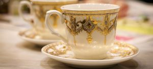 antique china from the attic that needs packing