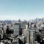 aerial view of renter-friendly neighborhoods in NYC