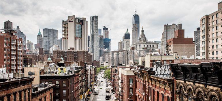 Manhattan side view