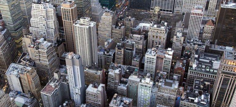 Aerial view - Financial District