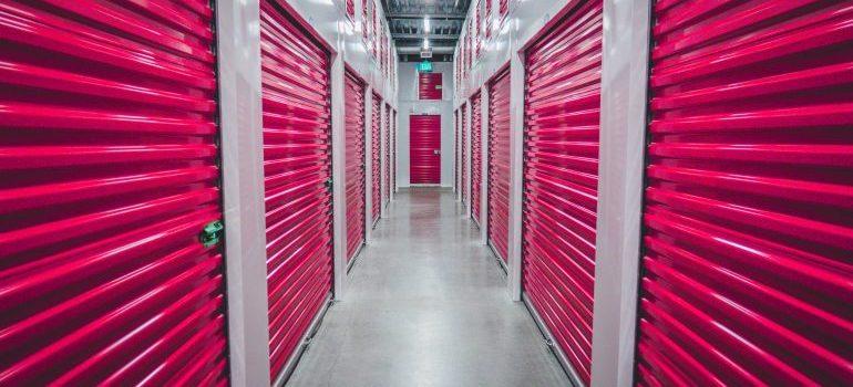 A storage facility - short term storage Manhattan