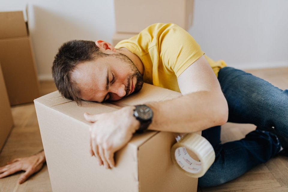 Main causes of stress when moving in NYC
