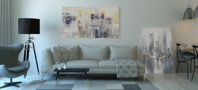 a living room - Moving to Manhattan for a job