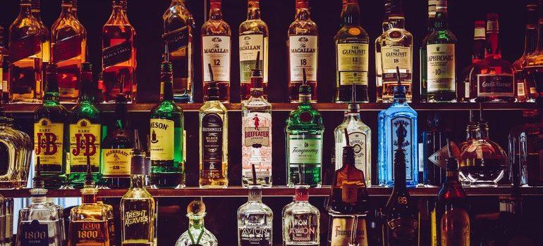 Liquor collection